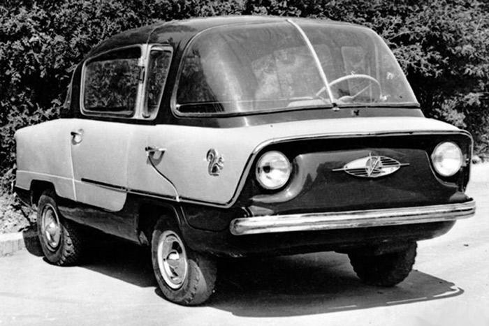 خودروهای عجیب شوروی