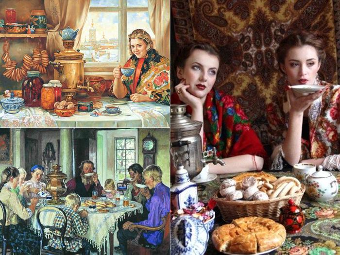 فرهنگ چای روسیه