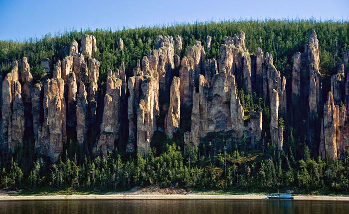 ستون های لنا، سیبری، روسیه