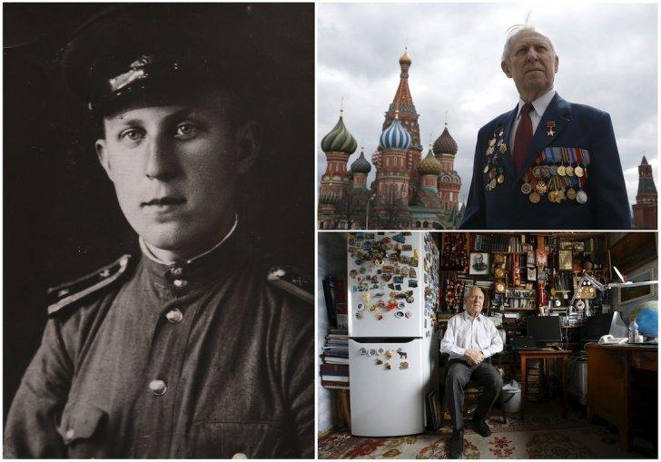 سربازان کهنه کار جنگ جهانی دوم شوروی