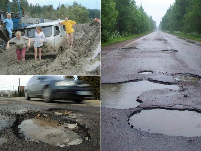 راه و جاده در روسیه