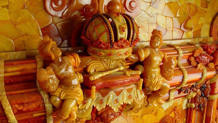 اتاق کهربا، روسیه، سن پترزبورگ، سنت پترزبورگ، کاخ کاترین