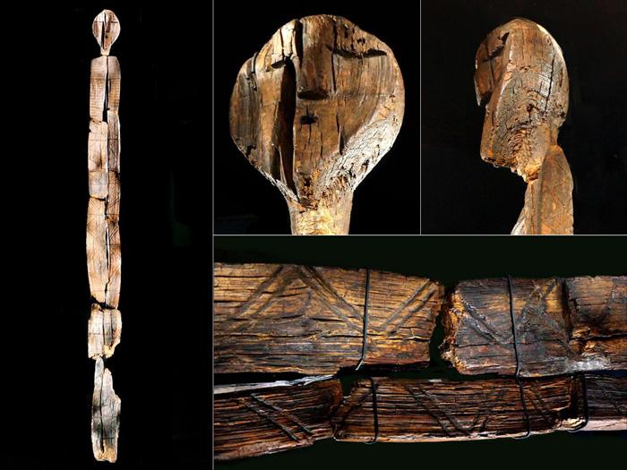 قدیمی ترین مجسمه چوبی جهان، مجسمه شیگیر، روسیه