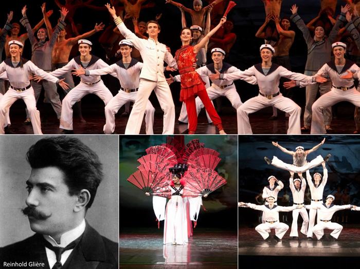 رقص سیب کوچک، رقص ملوانان روس، یابلچکا، باله