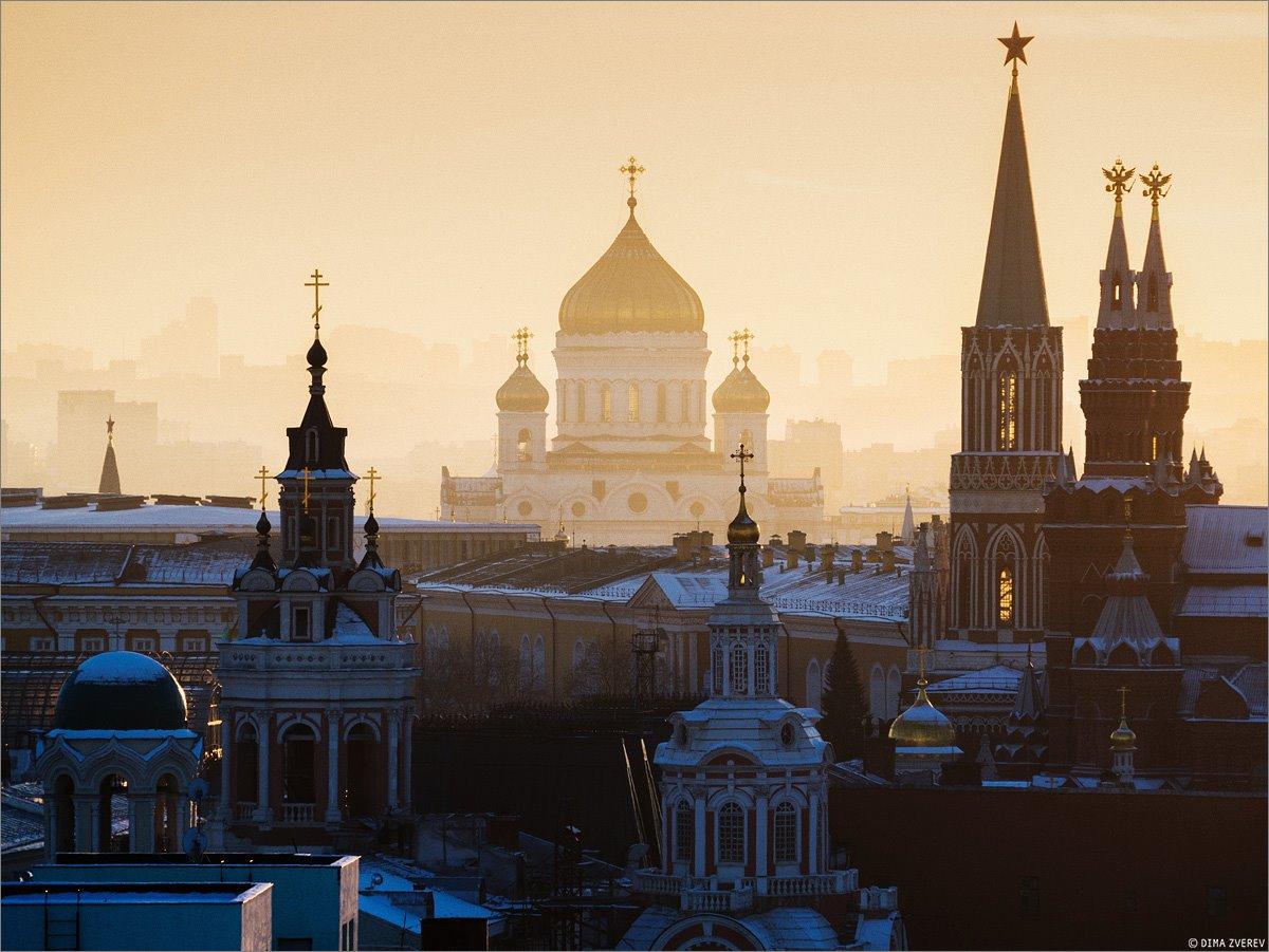 مسکو، کلیسای مسیح منجی، روسیه