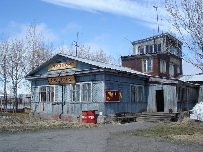 فرودگاه آسورا، کامچاتکا، روسیه